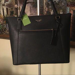 NWT Kate Spade saffiano Leather tote bag